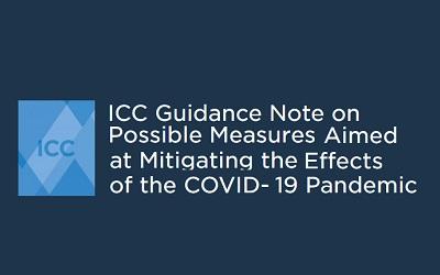 Nota de Orientación para Mitigar los Efectos de la Pandemia del COVID-19, emitida por la Corte Internacional de Arbitraje de la CCI. (Versión en inglés)