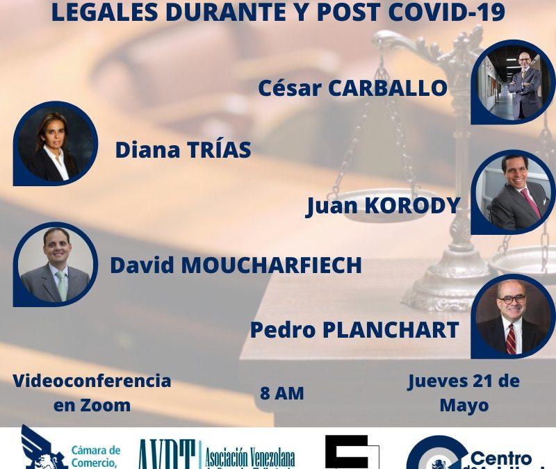 Implicaciones institucionales y legales durante y post COVID-19