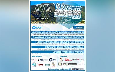 VI Congreso Venezolano de Arbitraje Nacional e Internacional