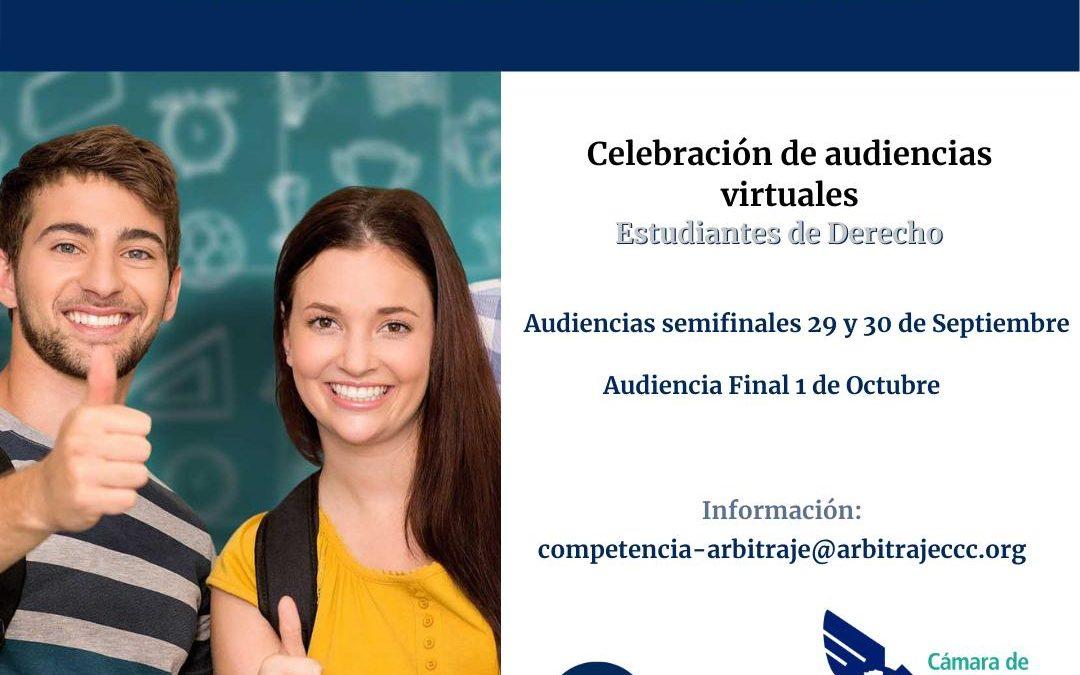 Cronograma para la celebración de Audiencias Virtuales