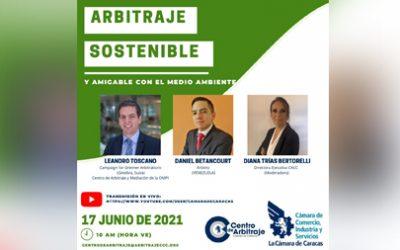 Arbitraje Sostenible y Amigable con el Medio Ambiente